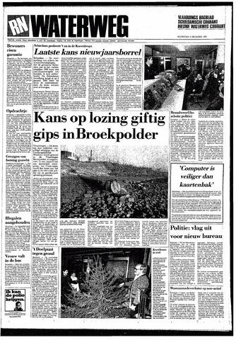Rotterdamsch Nieuwsblad / Schiedamsche Courant / Rotterdams Dagblad / Waterweg / Algemeen Dagblad 1987-12-09