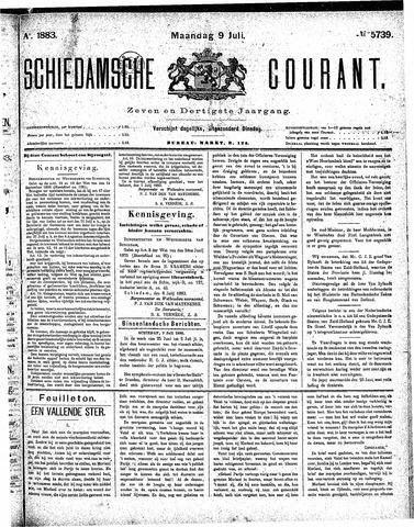 Schiedamsche Courant 1883-07-09