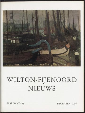 Wilton Fijenoord Nieuws 1956-12-01