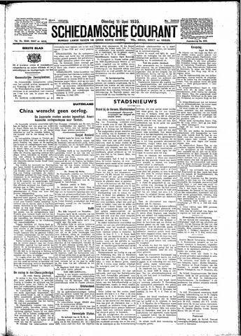 Schiedamsche Courant 1935-06-11