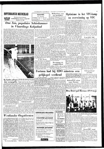 Rotterdamsch Nieuwsblad / Schiedamsche Courant / Rotterdams Dagblad / Waterweg / Algemeen Dagblad 1965-08-23
