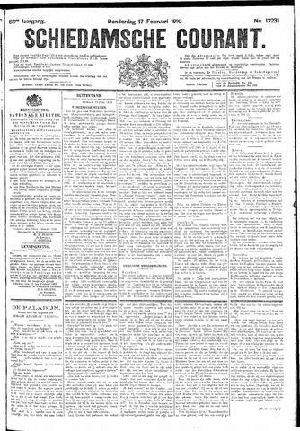 Schiedamsche Courant 1910-02-17
