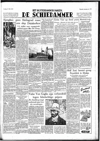 Rotterdamsch Parool / De Schiedammer 1949-05-27