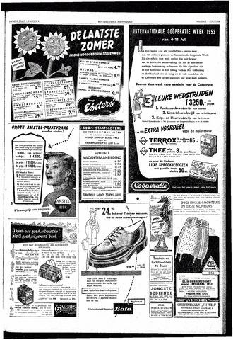 Rotterdamsch Nieuwsblad / Schiedamsche Courant / Rotterdams Dagblad / Waterweg / Algemeen Dagblad 1953-07-03