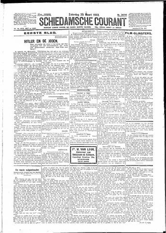 Schiedamsche Courant 1933-03-25