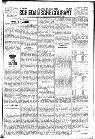 Schiedamsche Courant 1929-01-31