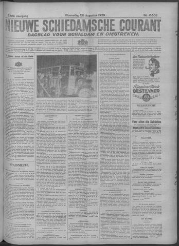 Nieuwe Schiedamsche Courant 1929-08-28