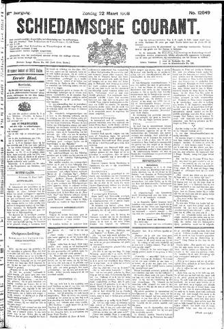 Schiedamsche Courant 1908-03-22