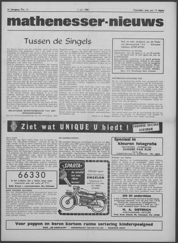 Mathenesser Nieuws 1963-07-04