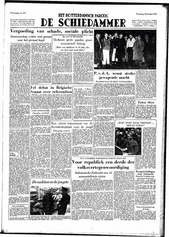 Rotterdamsch Parool / De Schiedammer 1949-10-26