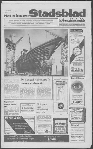 Het Nieuwe Stadsblad 1970-11-06