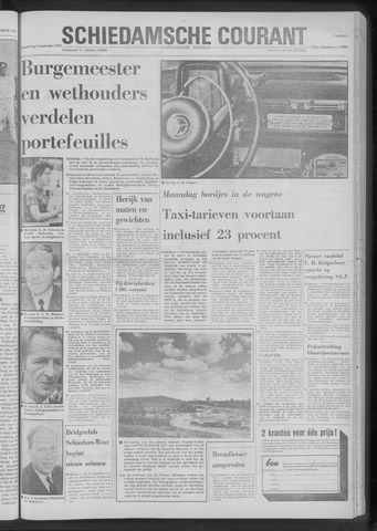 Rotterdamsch Nieuwsblad / Schiedamsche Courant / Rotterdams Dagblad / Waterweg / Algemeen Dagblad 1970-09-03