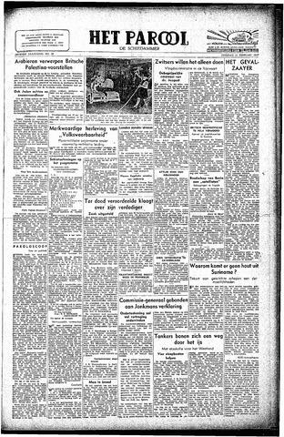 Rotterdamsch Parool / De Schiedammer 1947-02-11