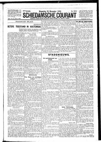 Schiedamsche Courant 1929-11-20