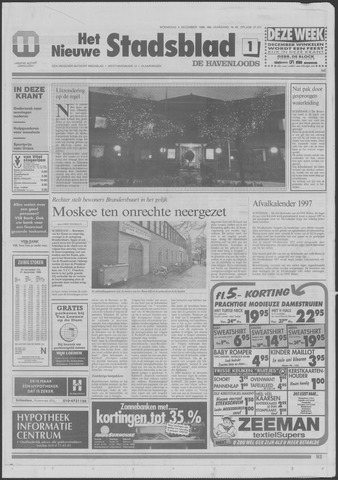 Het Nieuwe Stadsblad 1996-12-04