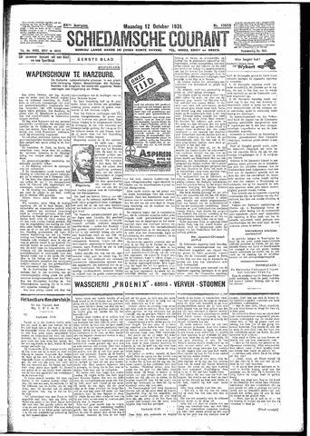 Schiedamsche Courant 1931-10-12