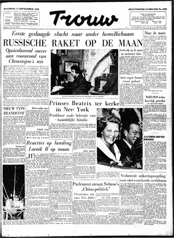 Trouw / De Rotterdammer 1959-09-14