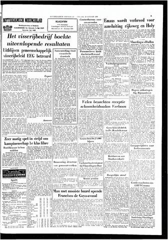 Rotterdamsch Nieuwsblad / Schiedamsche Courant / Rotterdams Dagblad / Waterweg / Algemeen Dagblad 1966-01-28