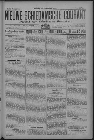 Nieuwe Schiedamsche Courant 1913-11-25