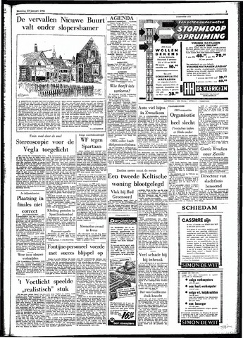 Rotterdamsch Parool / De Schiedammer 1961-01-23
