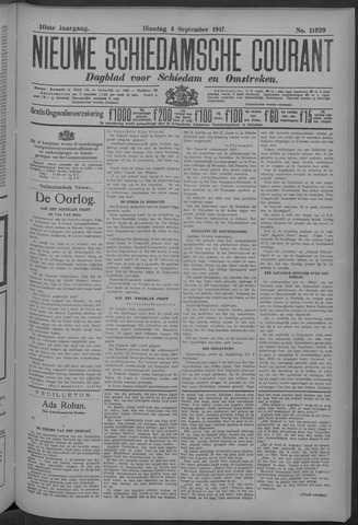 Nieuwe Schiedamsche Courant 1917-09-04
