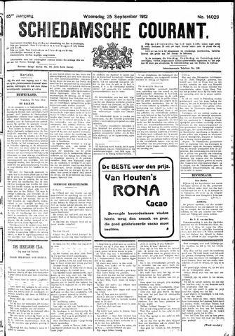 Schiedamsche Courant 1912-09-25