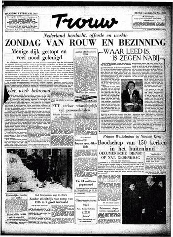 Trouw / De Rotterdammer 1953-02-09
