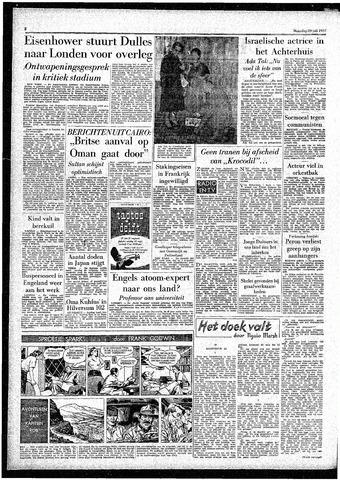 Rotterdamsch Parool / De Schiedammer 1957-07-29