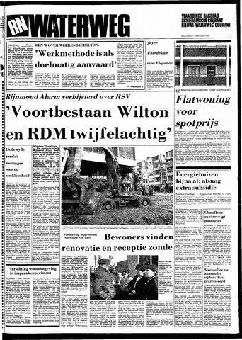 Rotterdamsch Nieuwsblad / Schiedamsche Courant / Rotterdams Dagblad / Waterweg / Algemeen Dagblad 1983-02-07