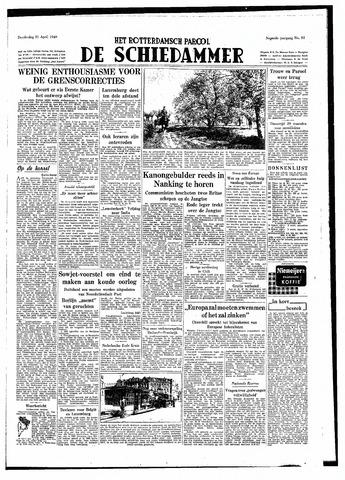 Rotterdamsch Parool / De Schiedammer 1949-04-21