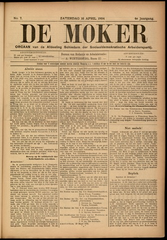 De Moker 1904-04-16