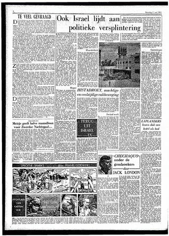 Rotterdamsch Parool / De Schiedammer 1957-05-11