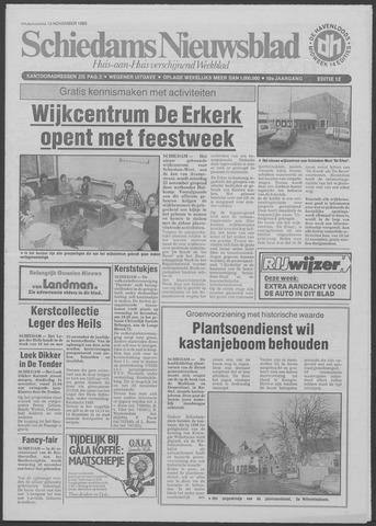 Schiedams Nieuwsblad 1985-11-13