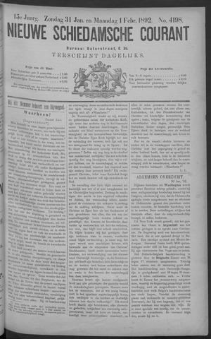 Nieuwe Schiedamsche Courant 1892-02-01