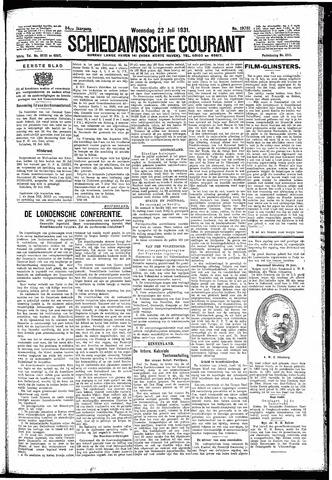 Schiedamsche Courant 1931-07-22