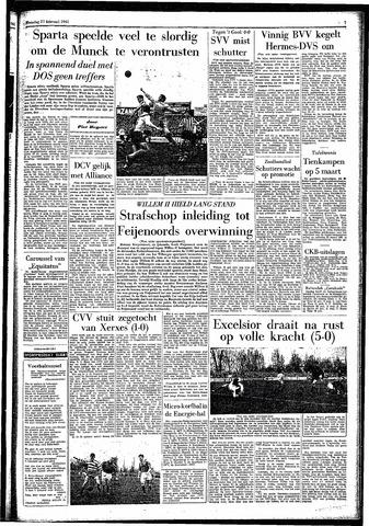 Rotterdamsch Parool / De Schiedammer 1961-02-27