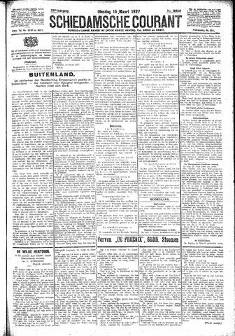 Schiedamsche Courant 1927-03-15