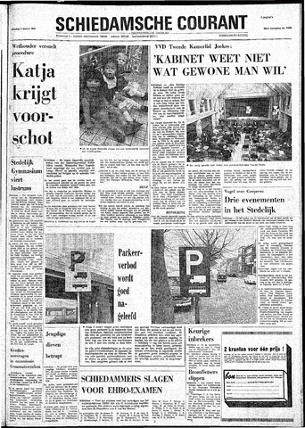 Rotterdamsch Nieuwsblad / Schiedamsche Courant / Rotterdams Dagblad / Waterweg / Algemeen Dagblad 1974-03-05