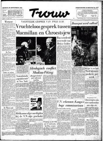 Trouw / De Rotterdammer 1960-09-30