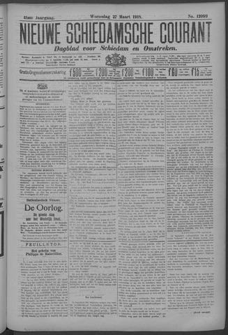 Nieuwe Schiedamsche Courant 1918-03-27