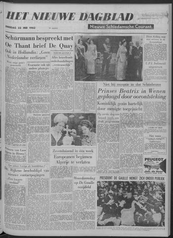 Nieuwe Schiedamsche Courant 1962-05-22