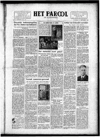Rotterdamsch Parool / De Schiedammer 1946-09-14