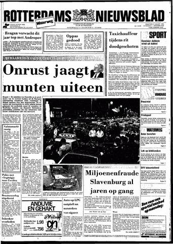 Rotterdamsch Nieuwsblad / Schiedamsche Courant / Rotterdams Dagblad / Waterweg / Algemeen Dagblad 1983-03-21