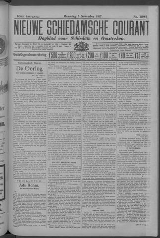 Nieuwe Schiedamsche Courant 1917-11-05