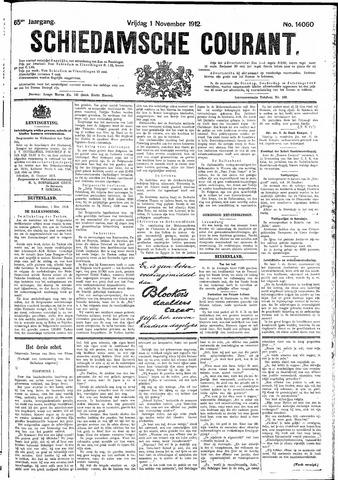 Schiedamsche Courant 1912-11-01