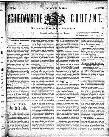 Schiedamsche Courant 1885-07-16