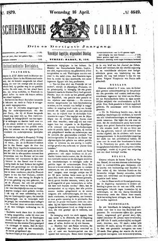 Schiedamsche Courant 1879-04-16