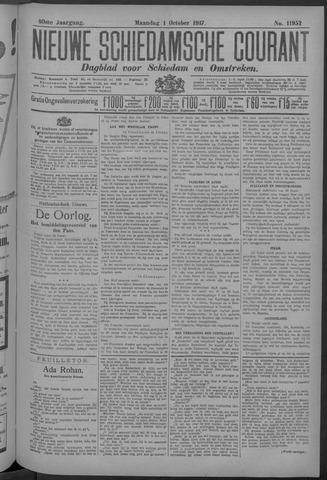 Nieuwe Schiedamsche Courant 1917-10-01