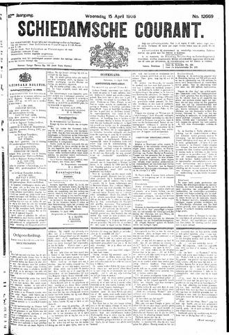 Schiedamsche Courant 1908-04-15