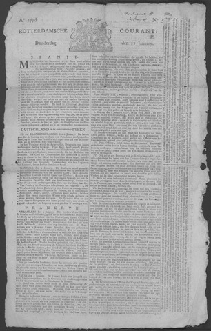 Rotterdamse Courant 1776